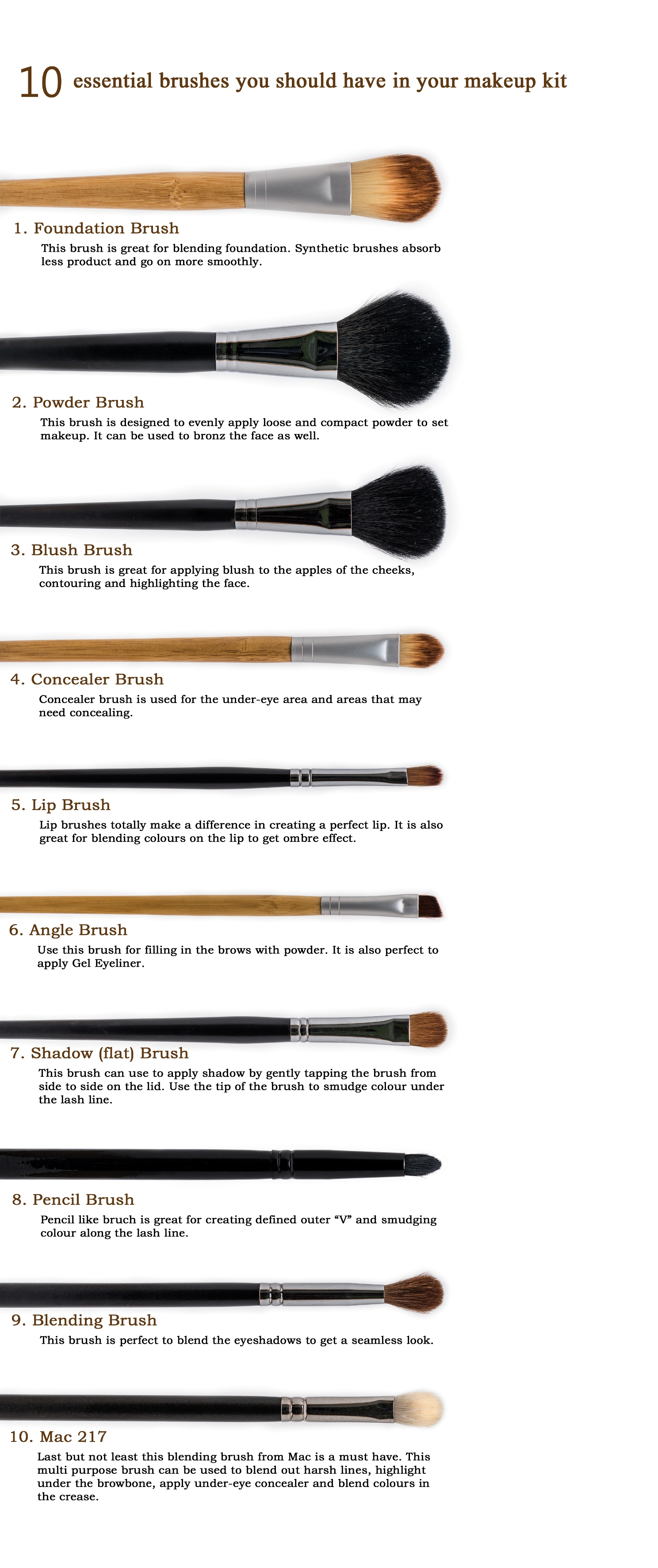 Makeup Brushes 1