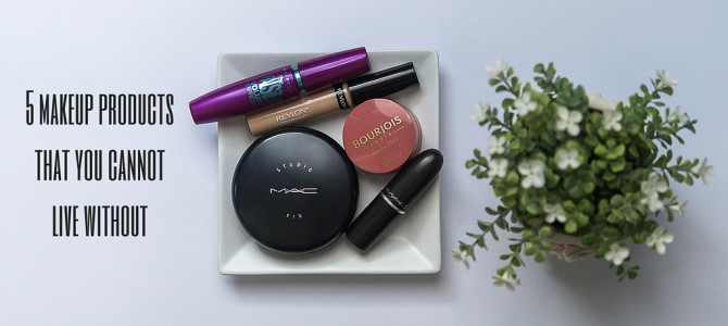 5 makeup products that you cannot live without