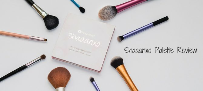 Shaaanxo Palette Review