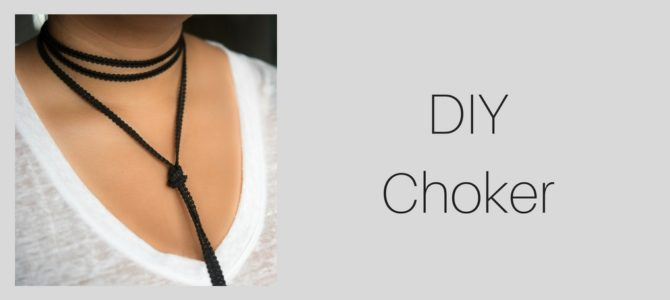Simple DIY Chokers